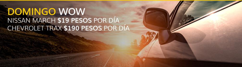 Renta un auto desde $1 en Hertz México