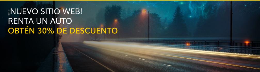 Renta un auto con 30% de descuento con Hertz México