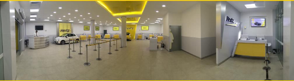 Renta de autos, renta de camionetas con Hertz. Nuestra oficina en Cancún para rentar un carro.