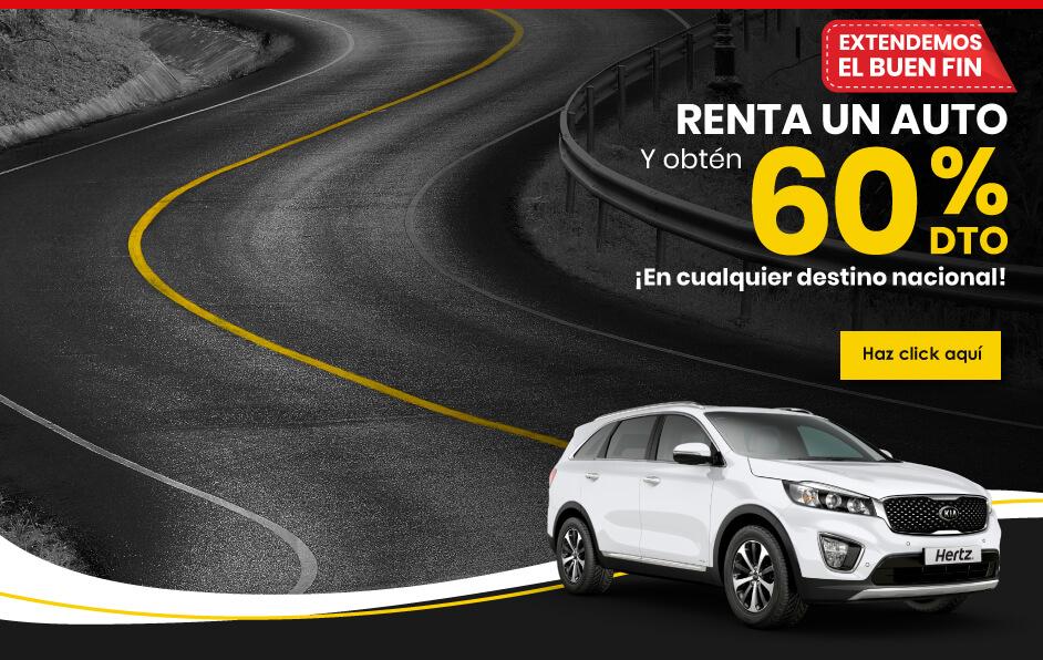 Renta un auto, renta un carro, renta una camioneta en Mayo con las promociones de Hertz México